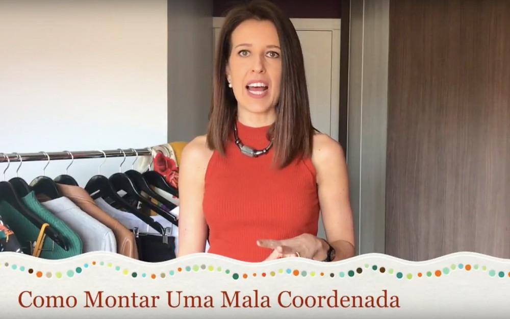 Capa de vídeo tutorial de como fazer uma mala coordenada