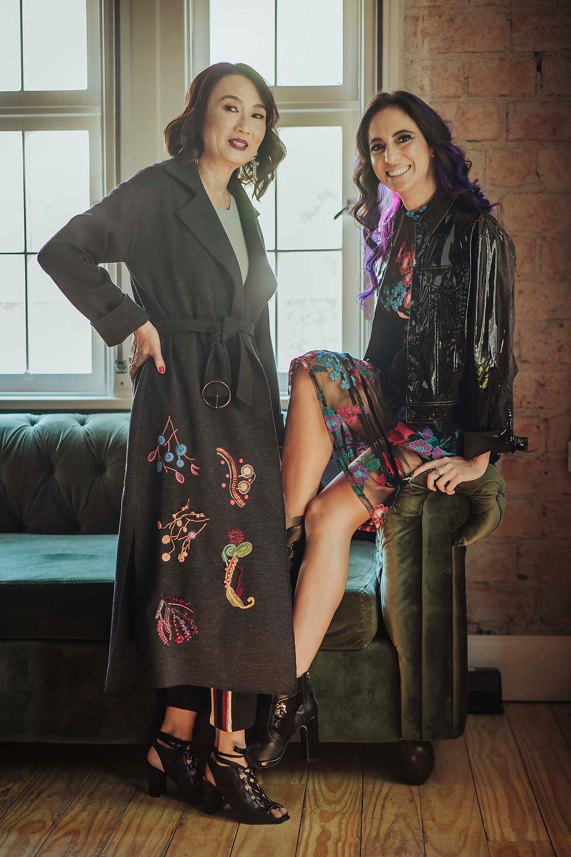 Jeanne Chao e Elisa Lisot 0551