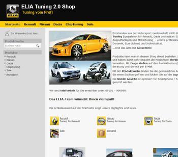 ELIA - Tuning Shop