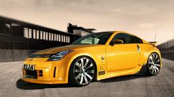 Nissan_350Z Rennstrecke