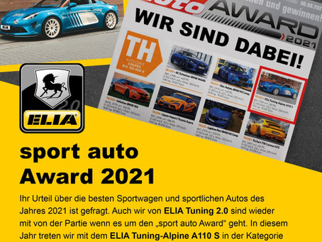 sport auto Award 2021