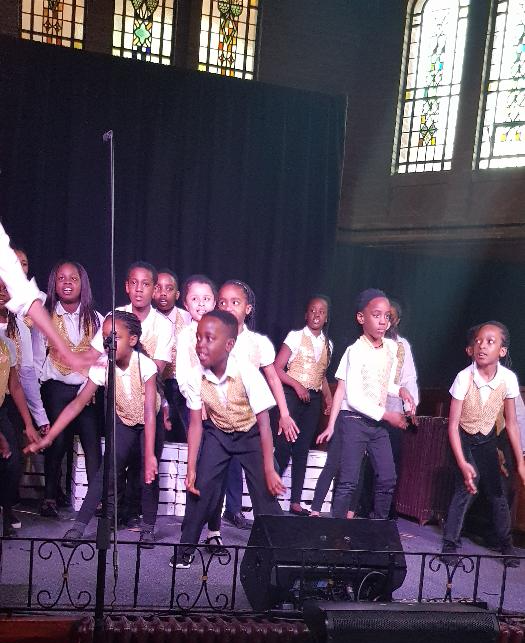 Our Roots Children performing at the