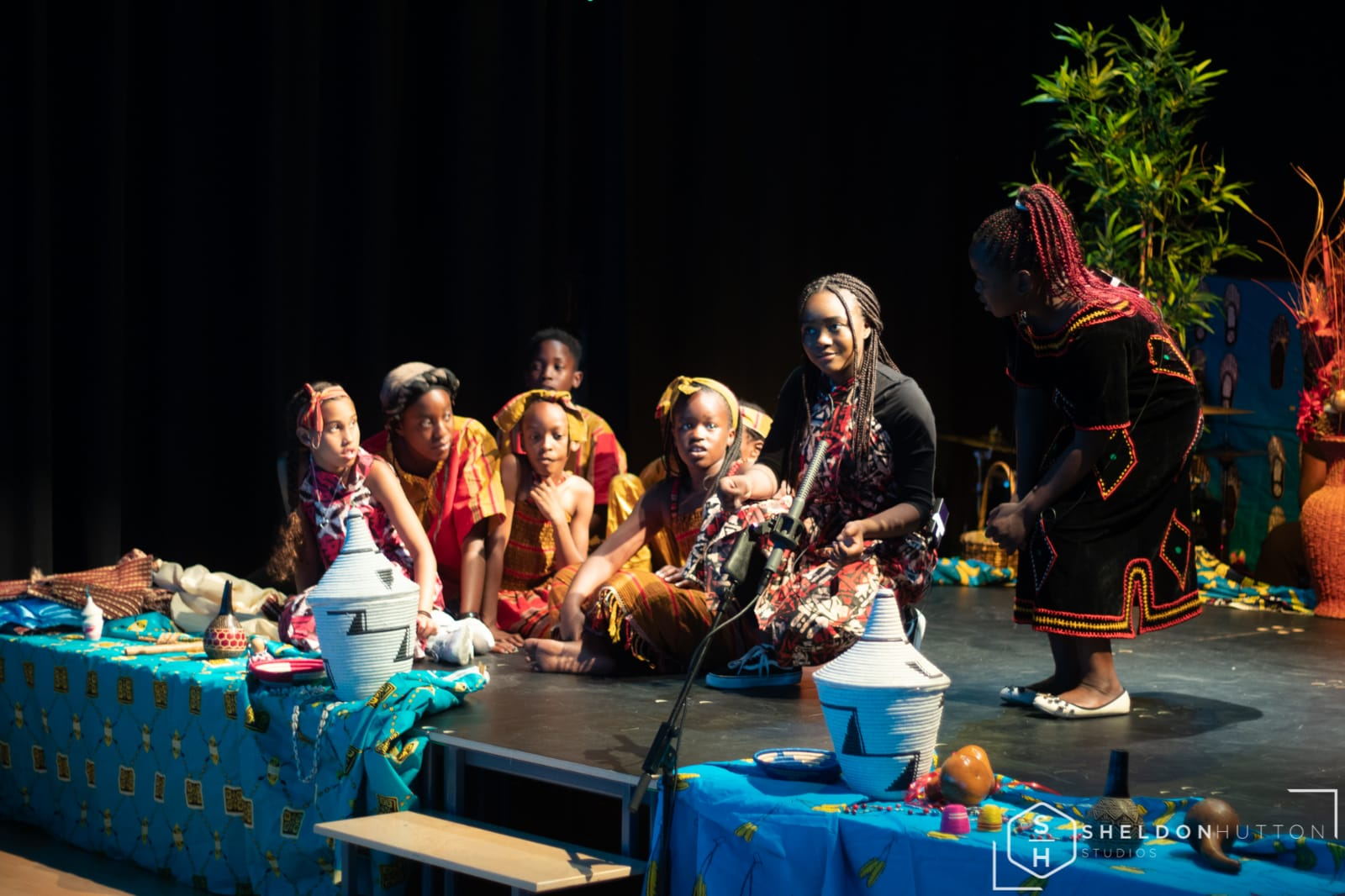 Our Roots Children Performing