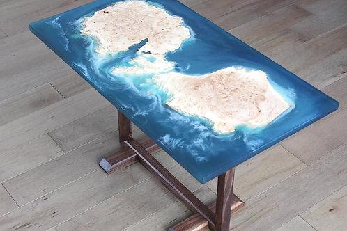 Table à café seahorse island