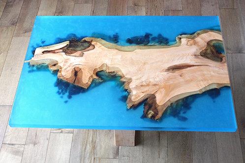 Table à café '' blue paradise ''