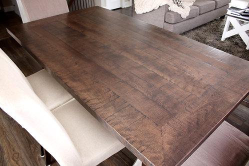 Table merisier rustique