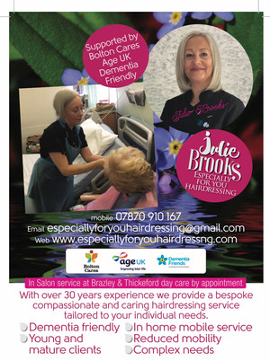 The Royal Bolton Hospital can now offer patients a Hairdressing service on the wards.