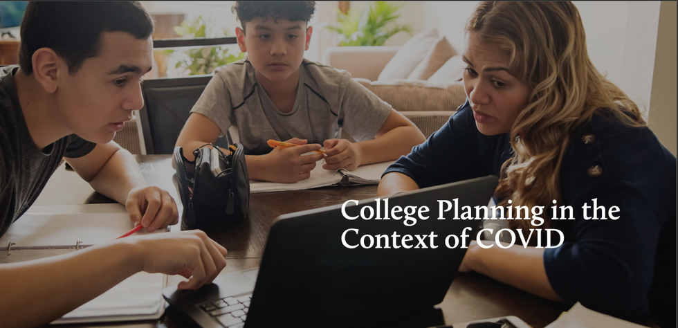 College Planning in the Context of COVID