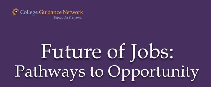 Future of Jobs: Pathways to the future
