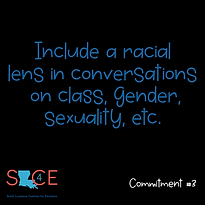 SLCE Anti-racism Commitment 3