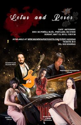 Lotus & Roses concert