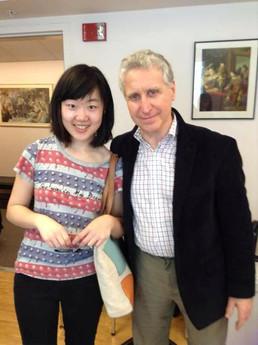 with Professor Yehuda Hanani