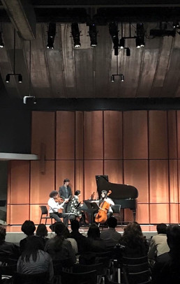 Mendelssohn piano trio performance