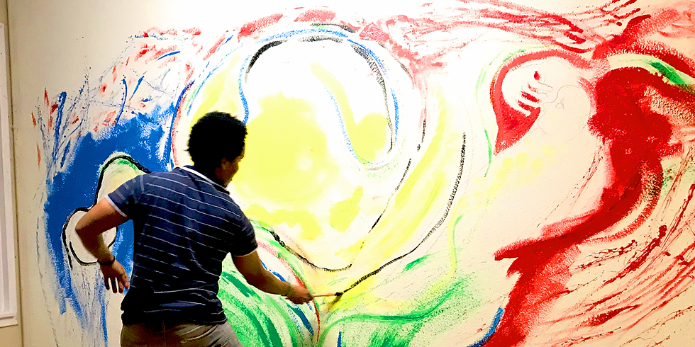 Palenque @Festival FILMAR - Performance Artistique Live - Chat & Peinture - David Candebat - Patricia Tondreau
