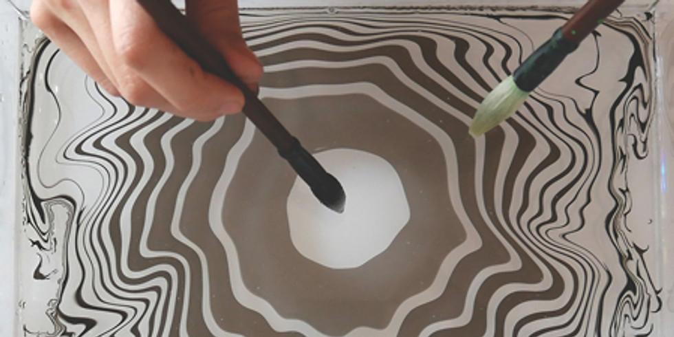 Atelier Suminagashi - L'art poétique de peindre à la surface de l'eau