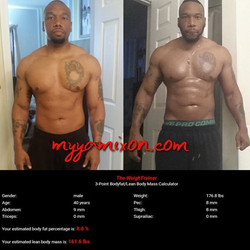 Instagram - I am beyond proud of my client Lewis! I was totally intimidated when I saw Lewis's befor