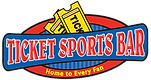 ticket sports bar logo