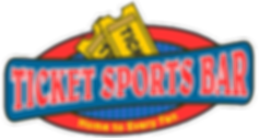 Ticket Sports Bar logo that links to home page.