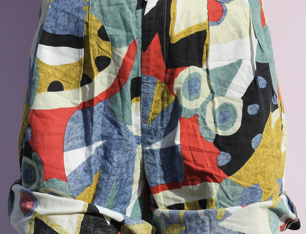 Funky Colourful Swing Shorts