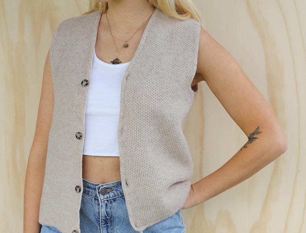 100% Wool Vest