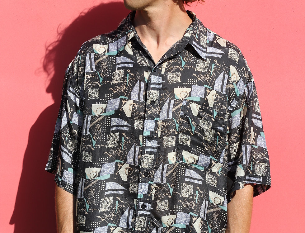 Shape Silk Party Shirt