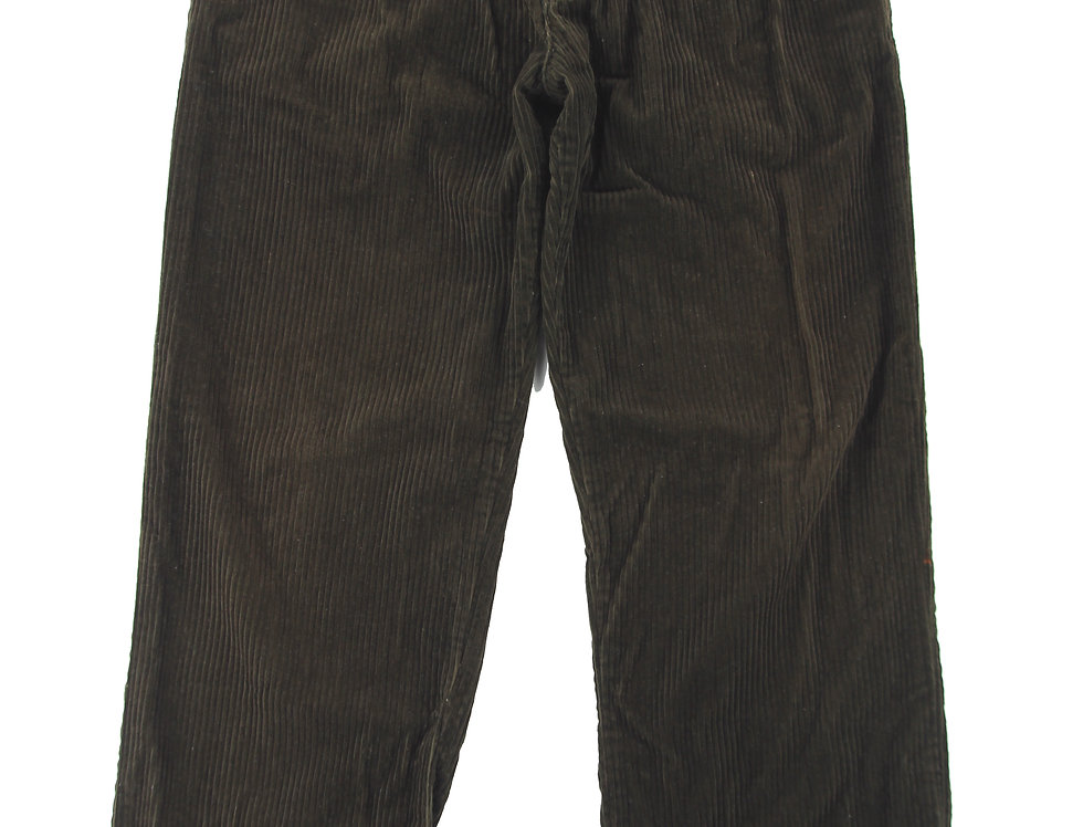 Chocolate Brown Thick Corduroy Pants