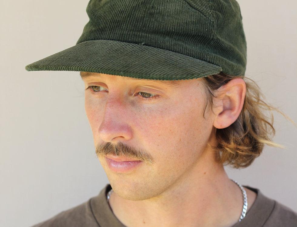 Green Cord Hat