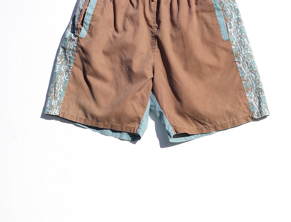 Brown/Blue 90's Shorts