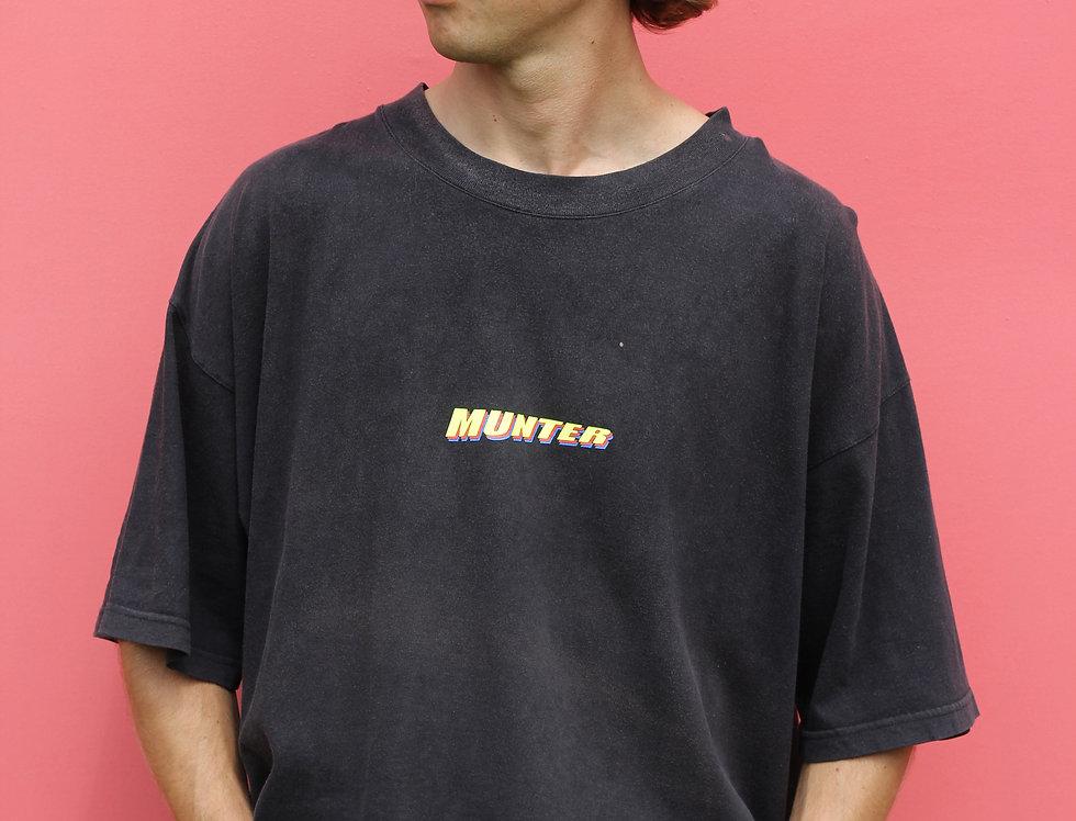 Munter T Faded Black/ Yellow