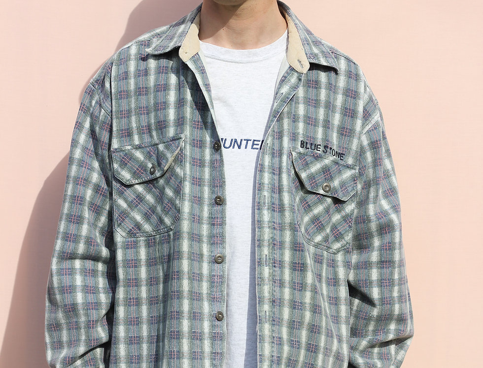 Blue Stone Heavy Flannel