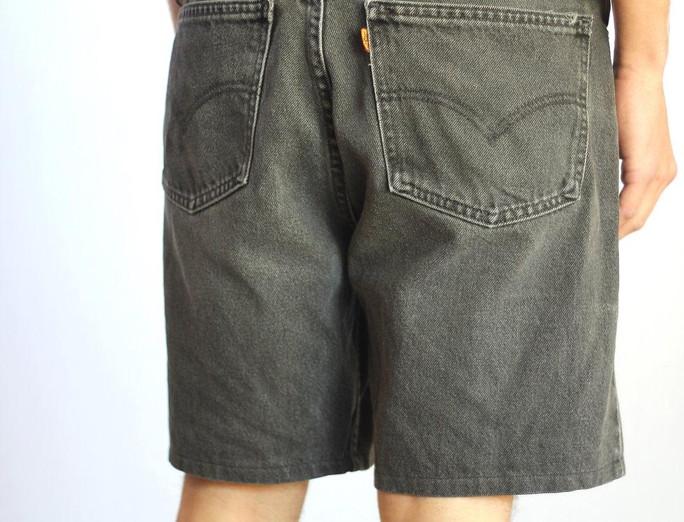 Black Levi's 604 Shorts