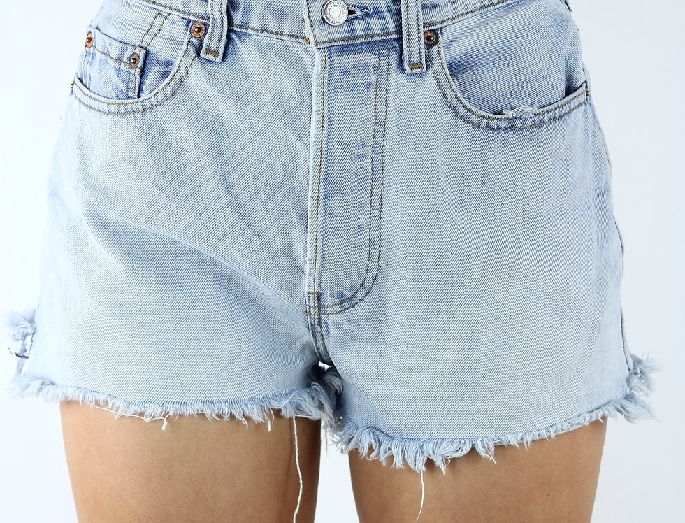Levi's 555 Light Denim Short Shorts