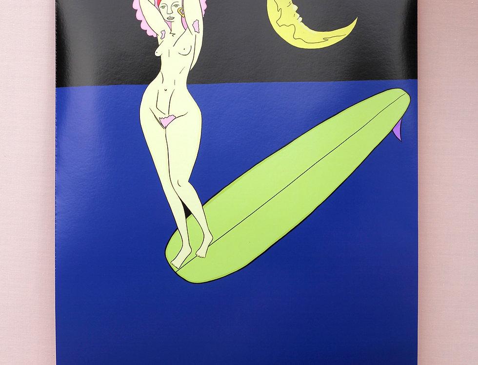 'Nude Surf' Print