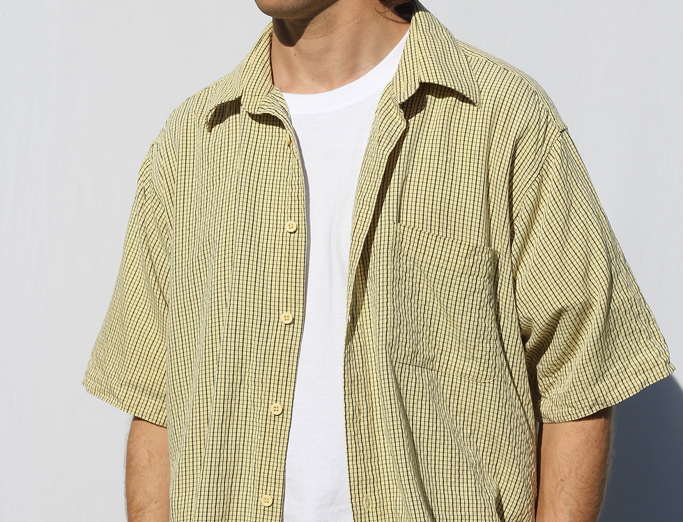 Retro Yellow Shirt