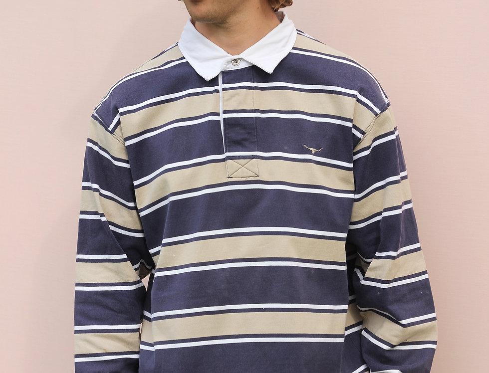 RM Williams Long Sleeve Polo