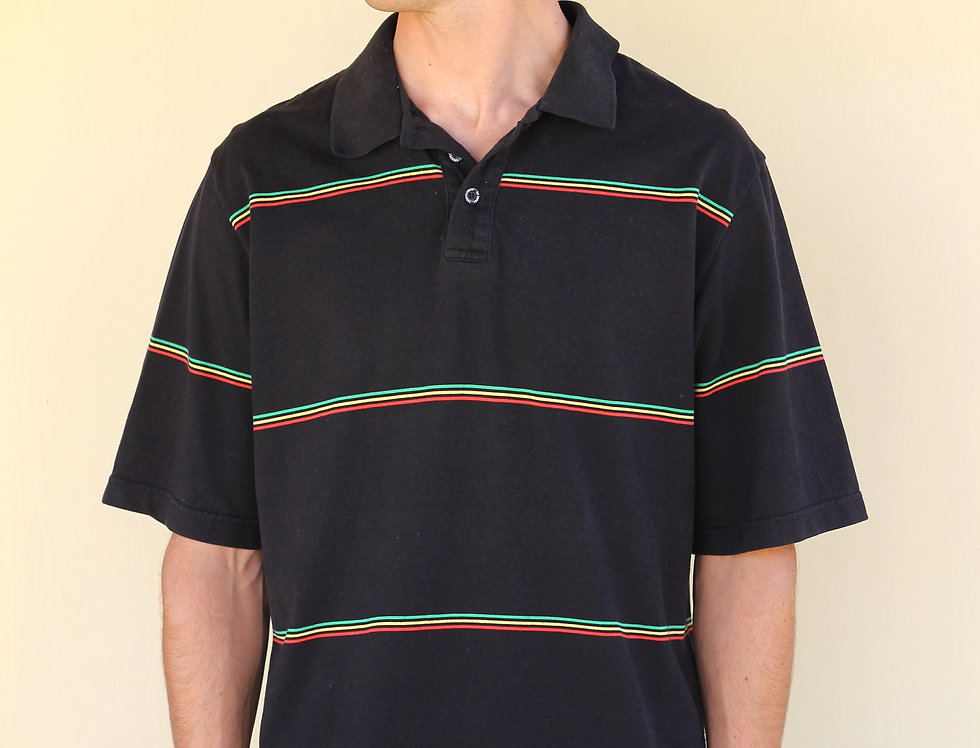 Independent Rasta Stripe Polo