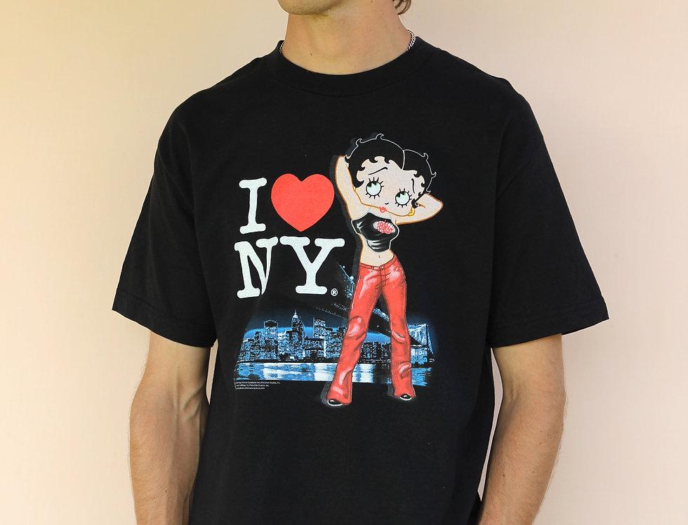 Betty Boop NY T