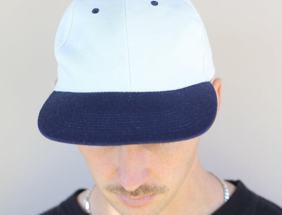 White/Navy Hat