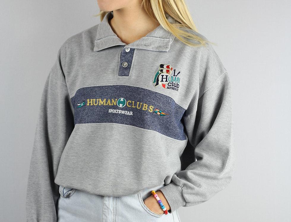 Human Sports Button Up