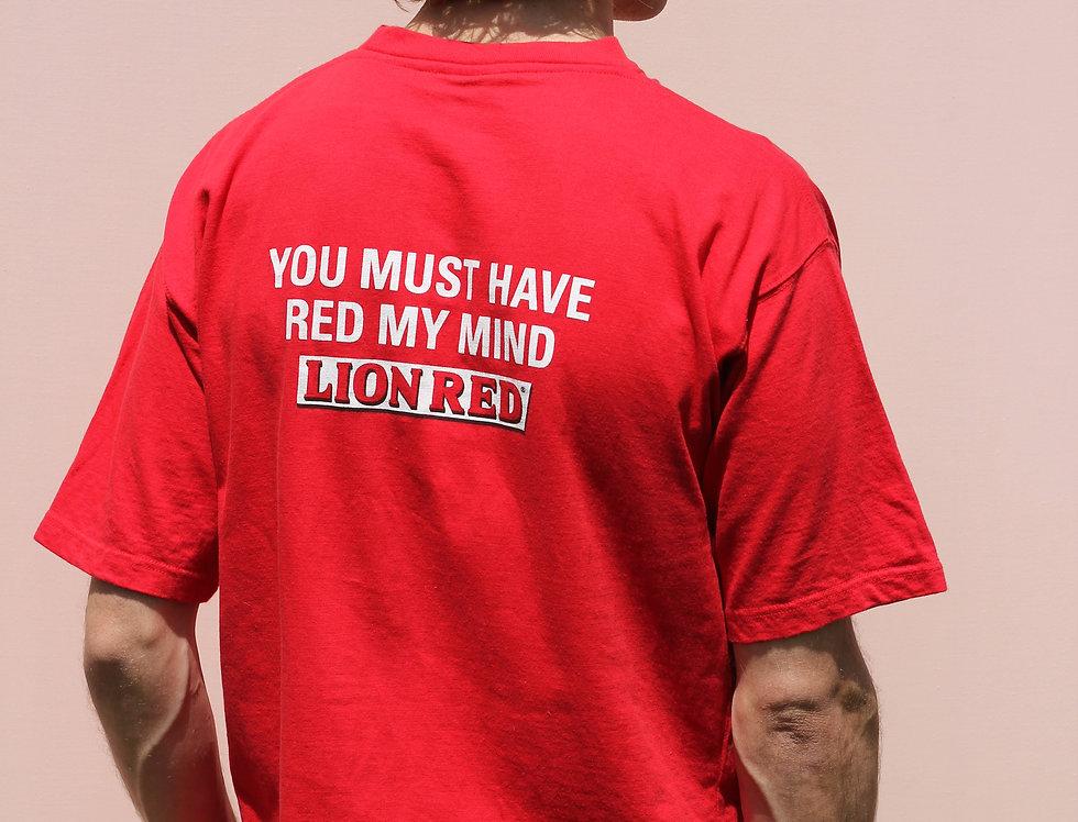Lion Red My Mind T