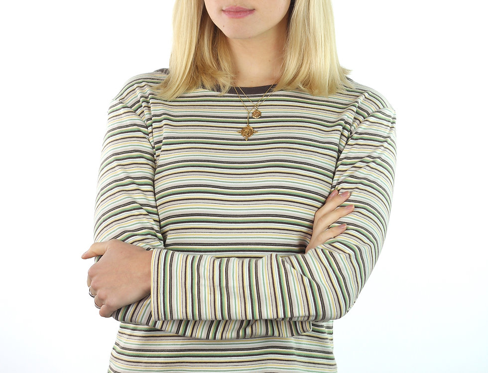 70's Stripe Long Sleeve