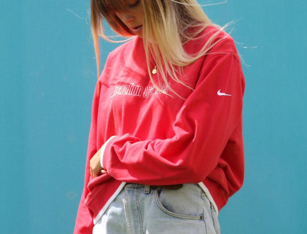 Red Nike Australian Open Jumper