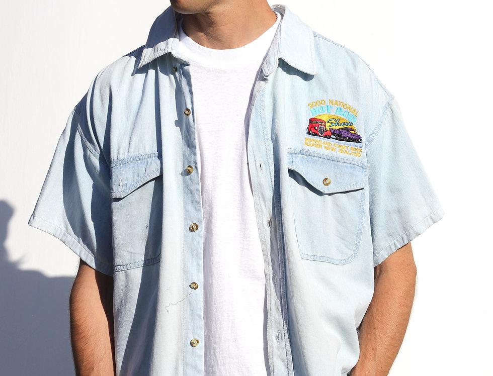 2000 Hot Rod Denim Shirt