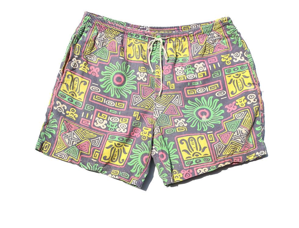 80's Vintage Neon Shorts