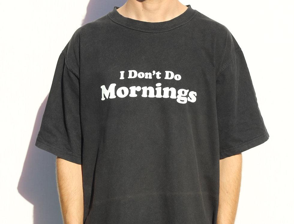 Mornings Vintage T