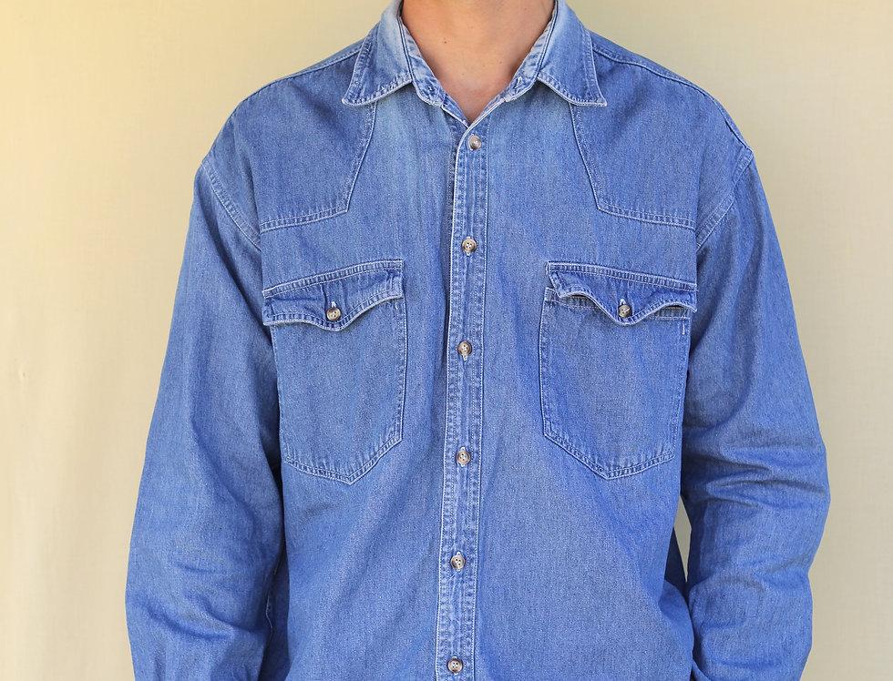 Blue Stone Denim Shirt