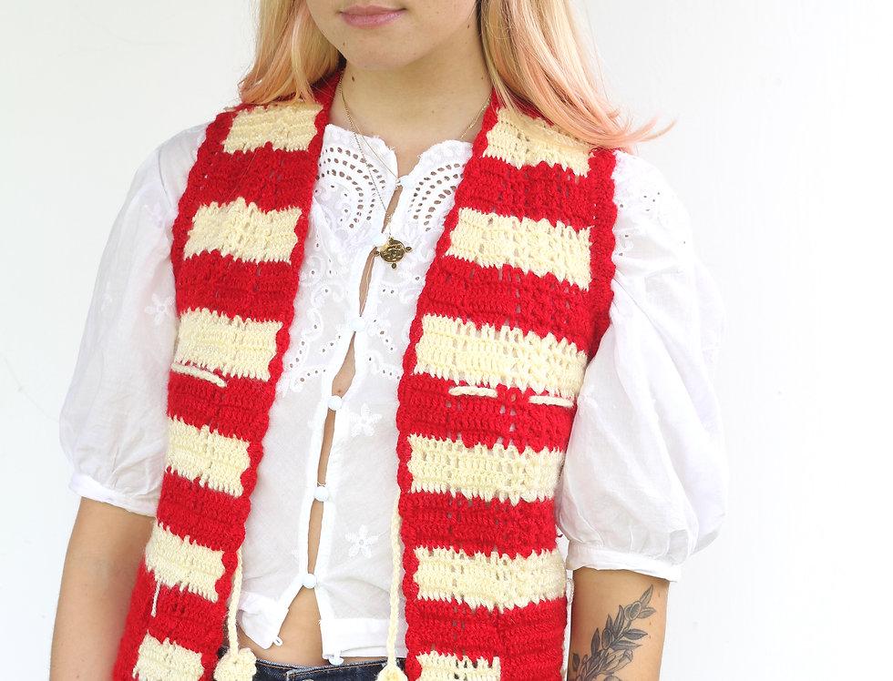 70's Crochet Vest
