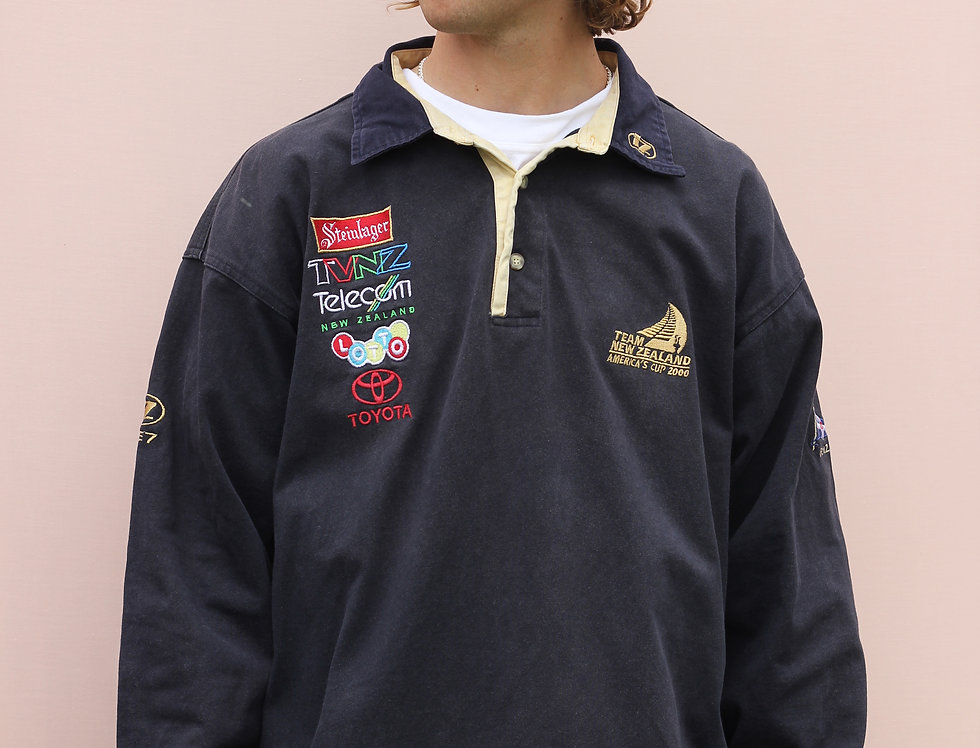 America's Cup 2000 Long Sleeve Polo
