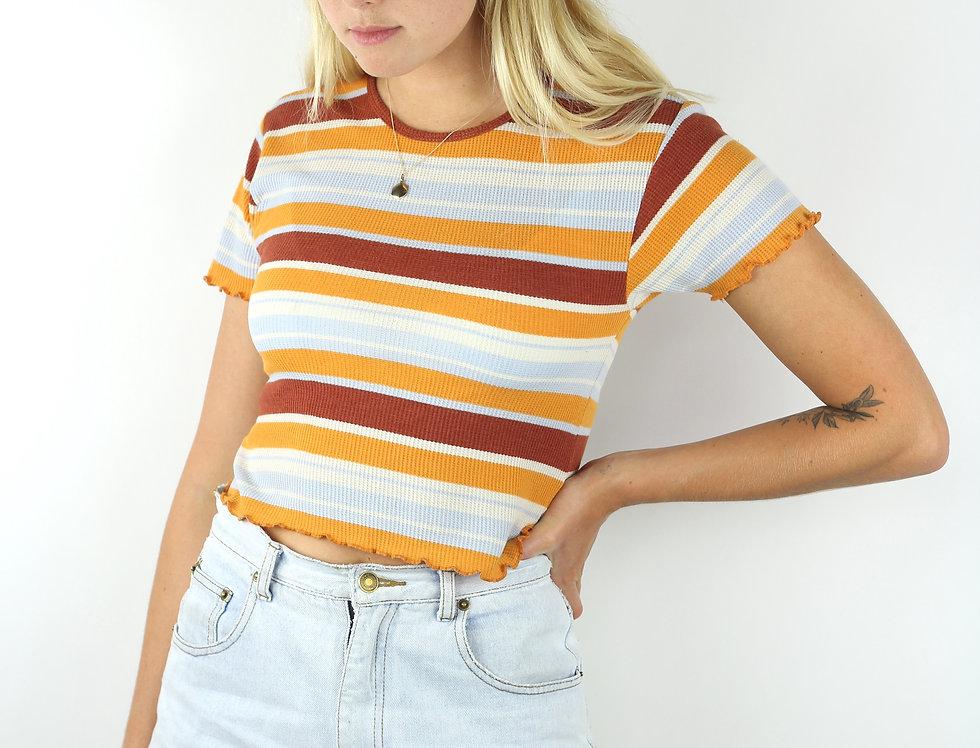 70's stripe T