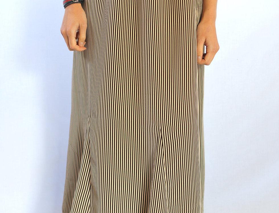 70's Pinstripe Skirt